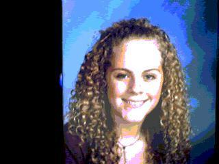 Megan - Blonde, 3b, Long hair styles, Readers, Female, Curly hair, Teen hair Hairstyle Picture
