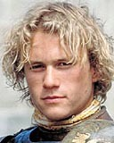 Heath Ledger - Blonde, 2b, 3a, Celebrities, Wavy hair, Male, Short hair styles, Curly hair Hairstyle Picture