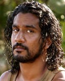 Naveen Andrews - Brunette, 3a, Celebrities, Male, Medium hair styles, Curly hair Hairstyle Picture