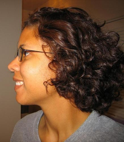 Kuwanna - Brunette, 3a, Medium hair styles, Readers, Female, Curly hair Hairstyle Picture