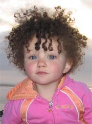 Beautiful Curly - Brunette, 3c, Short hair styles, Kids hair, Kinky hair, Readers, Curly hair Hairstyle Picture