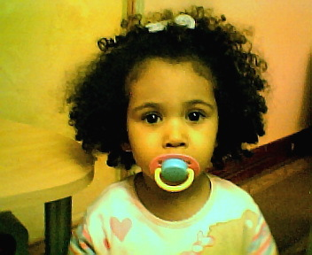 sasse-mai - Brunette, 4a, Medium hair styles, Kids hair, Afro, Readers, Curly hair Hairstyle Picture