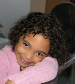 Shariena - Brunette, 3b, Short hair styles, Kids hair, Readers, Curly hair Hairstyle Picture