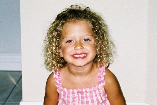 Paityn - Blonde, 3b, Short hair styles, Kids hair, Readers, Curly hair Hairstyle Picture