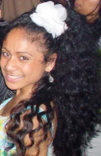 Damaris - 2a, Brunette, 2b, Wavy hair, Long hair styles, Readers, Teen hair Hairstyle Picture