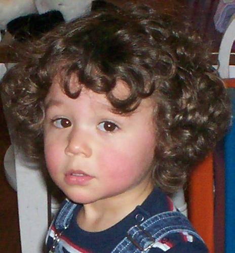 Elijah David - Brunette, 3a, Short hair styles, Kids hair, Readers, Curly hair Hairstyle Picture