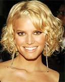 Jessica Simpson - Blonde, 2b, 3a, Celebrities, Wavy hair, Short hair styles, Female, Curly hair Hairstyle Picture