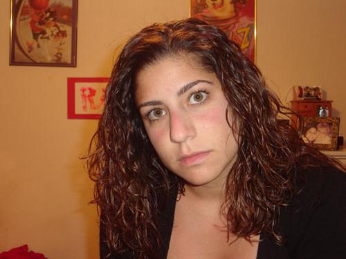 Rachelle - Brunette, 3a, Medium hair styles, Long hair styles, Readers, Curly hair, Teen hair Hairstyle Picture