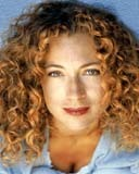 Alex Kingston - Redhead, 3a, Celebrities, Medium hair styles, Female, Curly hair Hairstyle Picture