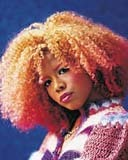Kelis - Redhead, 4b, Celebrities, Medium hair styles, Female, Adult hair, Layered hairstyles Hairstyle Picture