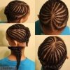 Valentine Day Heart Cornrows