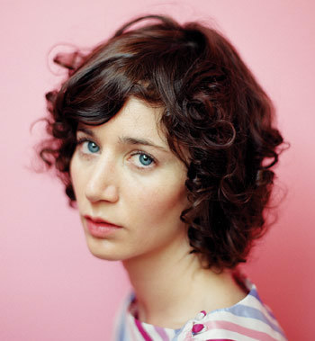 Miranda July - Brunette, 2b, Celebrities, Medium hair styles, Female, Curly hair Hairstyle Picture