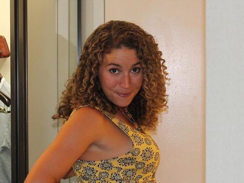 long, everyday hair - Brunette, 3b, Medium hair styles, Female, Adult hair Hairstyle Picture