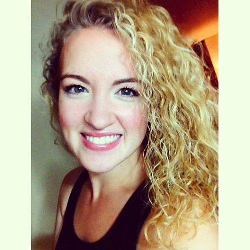 Love my curly hair!  - Blonde, Female Hairstyle Picture