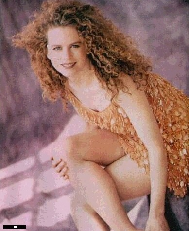 Nicole Kidman 1989 - Redhead, Blonde, 3b, Celebrities, Long hair styles, Summer hair, Female, Curly hair Hairstyle Picture