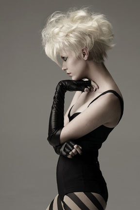 From Sebastian - Blonde, Wavy hair, Short hair styles, Styles, Female Hairstyle Picture