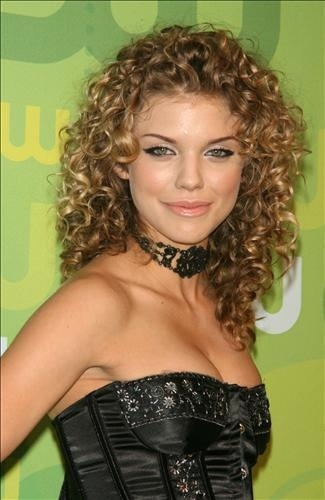 Annalynne McCord - Blonde, 3b, Celebrities, Medium hair styles, Styles, Female, Adult hair, Prom hairstyles, Homecoming hairstyles Hairstyle Picture