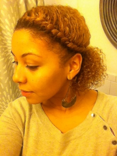 Front Twist - 3c, Short hair styles, Twist hairstyles, Readers, Female, Makeovers, Adult hair, Flat twists, Curly kinky hair Hairstyle Picture