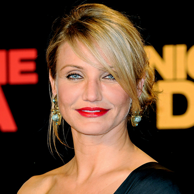 Cameron Diaz - Blonde, Celebrities, Wavy hair, Medium hair styles, Updos, Long hair styles, Female Hairstyle Picture
