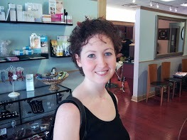 Valerie after her big cut! - Brunette, Female Hairstyle Picture
