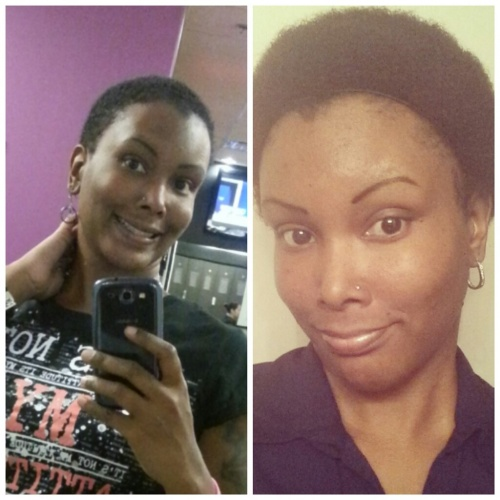 My Twa on the left, On the right, 5 months in! - 4a, Celebrities, Readers, Makeovers, Curly kinky hair Hairstyle Picture