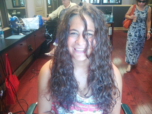 My client Jessica - Brunette, Long hair styles, Teen hair, Makeovers Hairstyle Picture