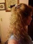back of curls - Blonde, Long hair styles, Readers, Female, Curly hair, Adult hair Hairstyle Picture