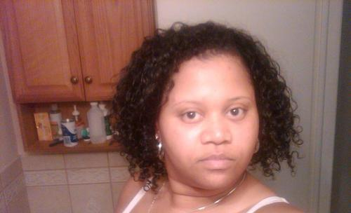 just a random pic - Brunette, 3c, Medium hair styles, Female, Curly hair, Black hair, Adult hair, Curly kinky hair Hairstyle Picture