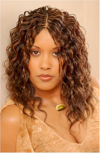 Curly Invisible Braids Images & Pictures - Becuo