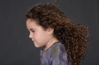 Beautiful Curly - Brunette, 3b, Medium hair styles, Kids hair, Readers Hairstyle Picture