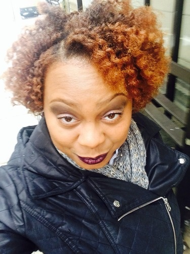 Flat Twist Out - Redhead, Celebrities, Medium hair styles, Kinky hair, Twist hairstyles, Readers, Female, Makeovers, Adult hair, Flat twists, Twist out, 4c Hairstyle Picture