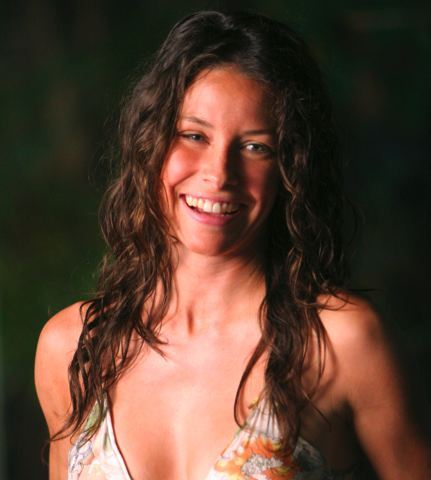 Evangeline Lilly - Brunette, Celebrities, Long hair styles, Female, Curly hair, 2c Hairstyle Picture