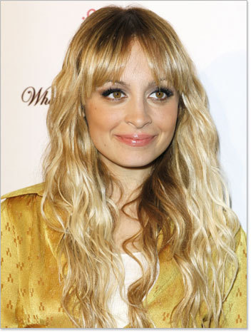 Nicole Richie  - Blonde, Celebrities, Wavy hair, Long hair styles, Female, Layered hairstyles Hairstyle Picture