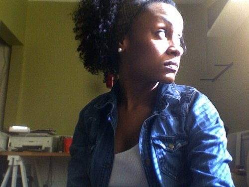 PRIDE - Short hair styles, Kinky hair, Readers, Styles, Female, Curly hair, Black hair, Natural Hair Celebration Hairstyle Picture