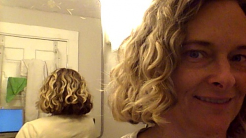 Front and back...week one - 3a, Wavy hair, Curly hair Hairstyle Picture