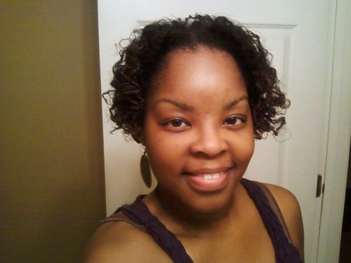 Curly 2 strand twist - Short hair styles, Styles, Female, Curly hair, Black hair, Adult hair, Twist out Hairstyle Picture