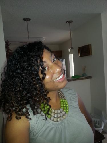 WnG's-3b curls - 3b, 3c, Medium hair styles, Readers, Black hair, Adult hair Hairstyle Picture
