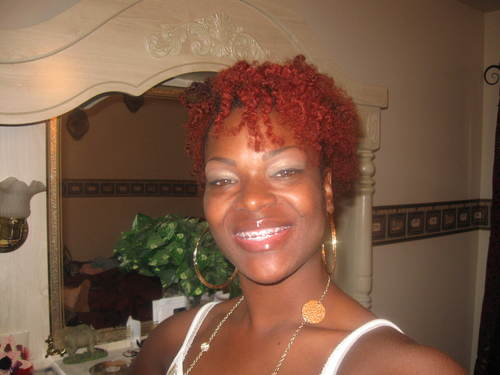 Shelia - Redhead, Short hair styles, Kinky hair, Readers, Female, Adult hair Hairstyle Picture