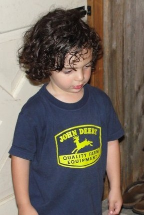 Our son - Brunette, 3a, Wavy hair, Short hair styles, Kids hair, Readers Hairstyle Picture