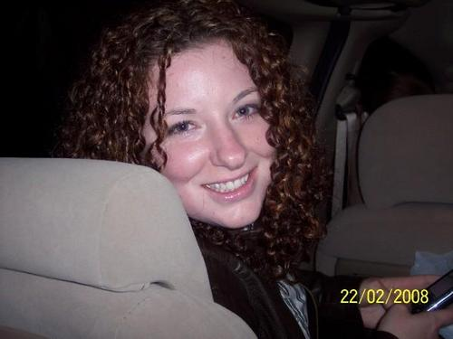 Travelin' with Curls - Redhead, Brunette, 3c, Mature hair, Long hair styles, Summer hair, Spring hair, Fall hair, Winter hair, Readers, Female, Curly hair Hairstyle Picture