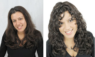 Ivonne's Makeover by Curl Junkie - Brunette, Wavy hair, Long hair styles, Female, Curly hair, Makeovers Hairstyle Picture