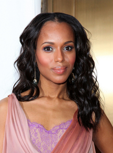 Kerry Washington - Celebrities, Kinky hair, Long hair styles, Female, Black hair Hairstyle Picture