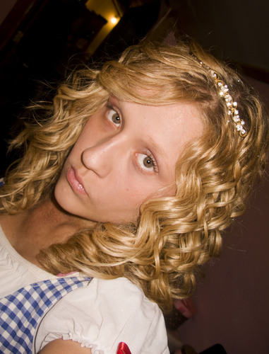 Little Miss USA  - Blonde, 3b, 3a, Medium hair styles, Long hair styles, Readers, Styles, Female, Curly hair, Teen hair, Makeovers, Adult hair, Spiral curls Hairstyle Picture