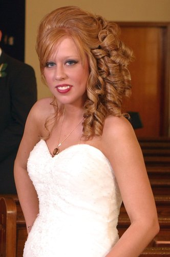 Wedding updo! - Redhead, Long hair styles, Wedding hairstyles, Female, Adult hair Hairstyle Picture
