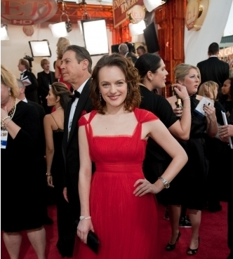 Elizabeth Moss - Redhead, Celebrities, Wavy hair, Medium hair styles, Female, 2c Hairstyle Picture