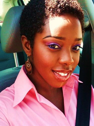 TWA - Brunette, Very short hair styles, Kinky hair, Readers, Female, Teen hair, Teeny weeny afro Hairstyle Picture