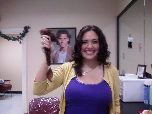 Locks of Love - Brunette, 3b, Wavy hair, Medium hair styles, Readers, Female, Curly hair Hairstyle Picture