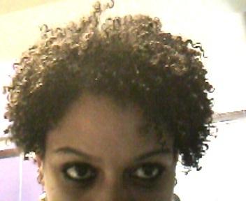 upclose pic of short crimpy curl - 3c, 4a, Short hair styles, Kinky hair, Curly kinky hair Hairstyle Picture