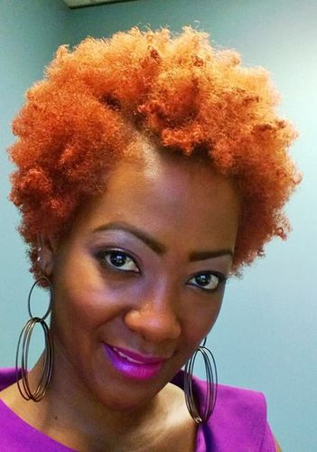 10 Months Naptural; 5 1/2 inches - Redhead, 4a, Short hair styles, Afro, Readers, Female, Adult hair Hairstyle Picture