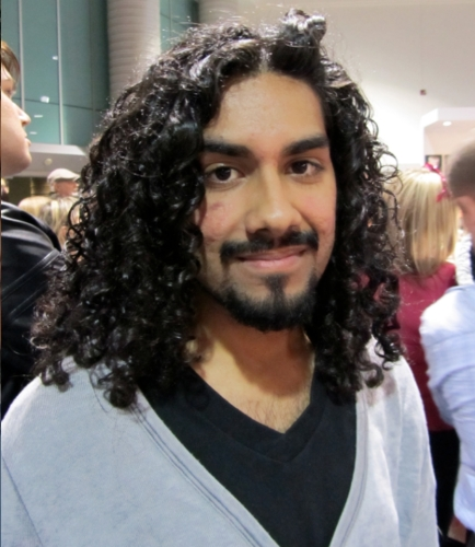 Curly man at ISSE - 3a, Male, Long hair styles, Styles Hairstyle Picture